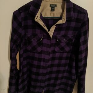 Roots Flannel top